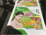 Eco Friendly Flexo Label Printing Machine , CI Flexographic Printing Press UV Die Cutting