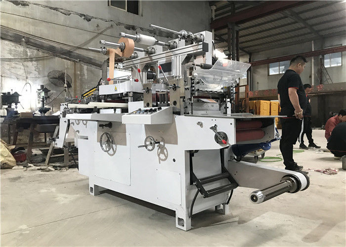 Flat Bed Die Cutting Machine , Die Cut Printing Machine 320mm Max Feeding Width
